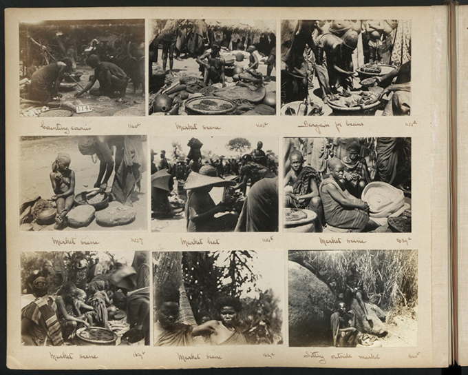 N. W. Thomas, Photograph Album, Tour 1, Volume 3, markets, Edo-speaking peoples of Southern Nigeria