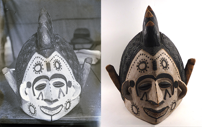 N. W. Thomas, Igbo mask, University of Cambridge Museum of Archaeology and Anthropology Z 13690