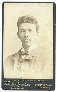 N. W. Thomas in c.1887