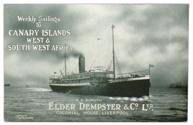 S. S. Burutu, Elder Dempster Line