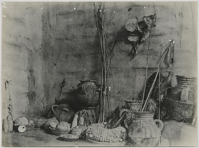 N. W. Thomas, Still Life, Shrine of Olukun, Benin City. NWT 144. MAA P.28134.