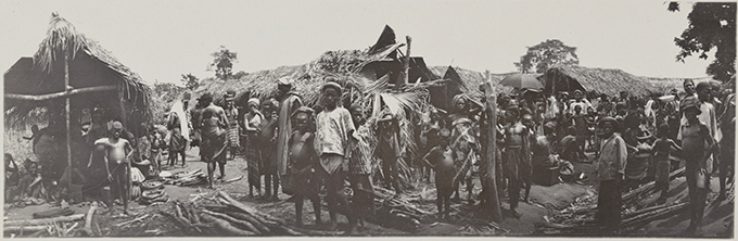 Northcote Thomas panoramic photograph, Nigeria 1910-13