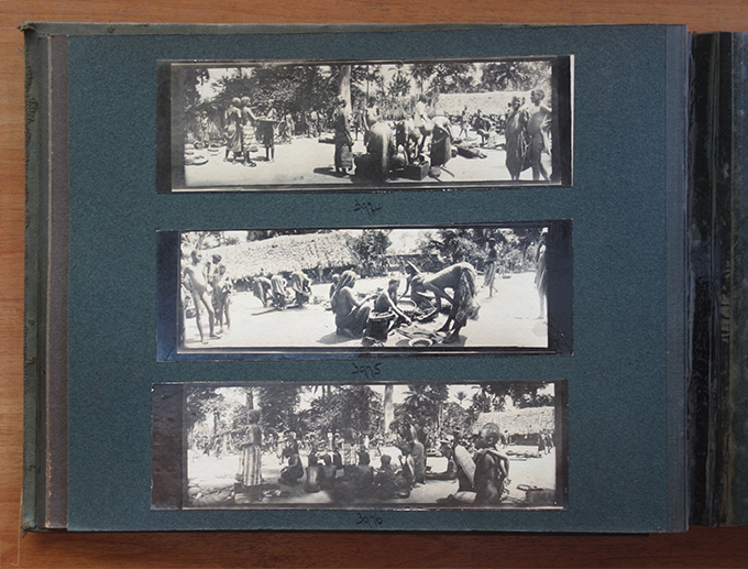 Northcote Thomas photograph album in National Museum, Lagos collection