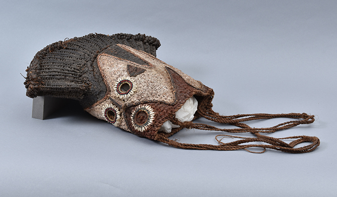 Ofuno mask, collected by Northcote Thomas in Ibillo, Nigeria in 1910. University of Cambridge Museum of Archaeology & Anthropology, Z 26531.