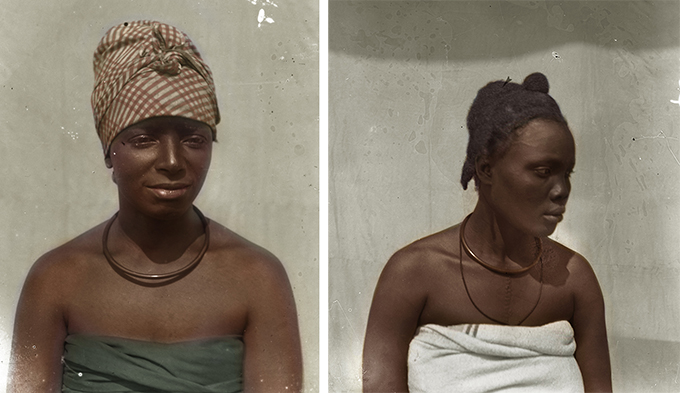Chiadikoni Nwaubani colourised versions of Northcote Thomas photographs (NWT 1853 and 1846a)