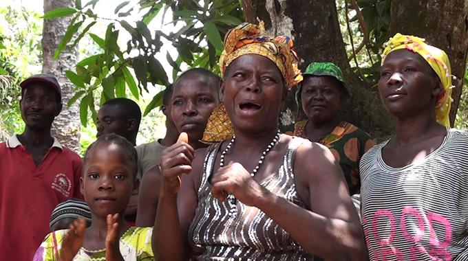 Ma Binty Conteh, Bumban, Sierra Leone