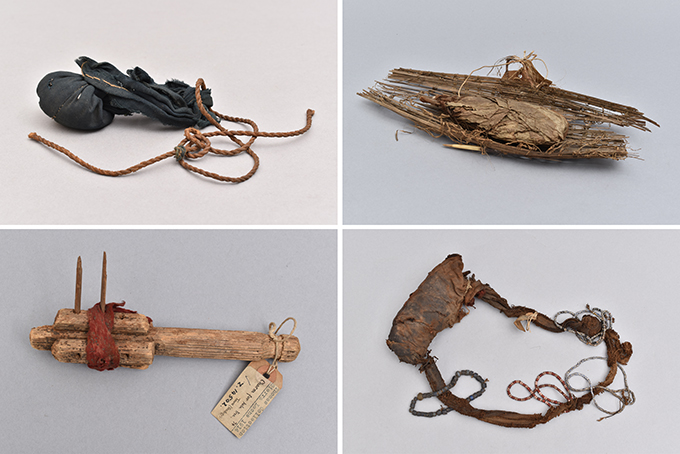 Charms collected by Northcote Thomas in Sierra Leone, 1914-15