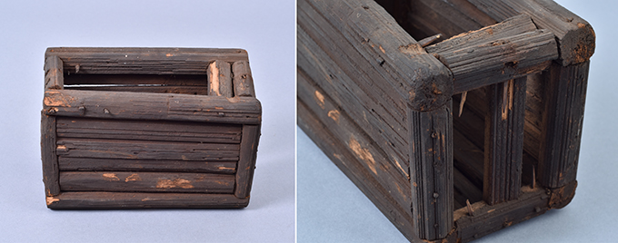 Box collected by Northcote Thomas in Nise, 1911. NWT 2 0599; MAA Z 13900.