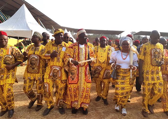Nka Dioka Cultural Festival, Neni, December 2018