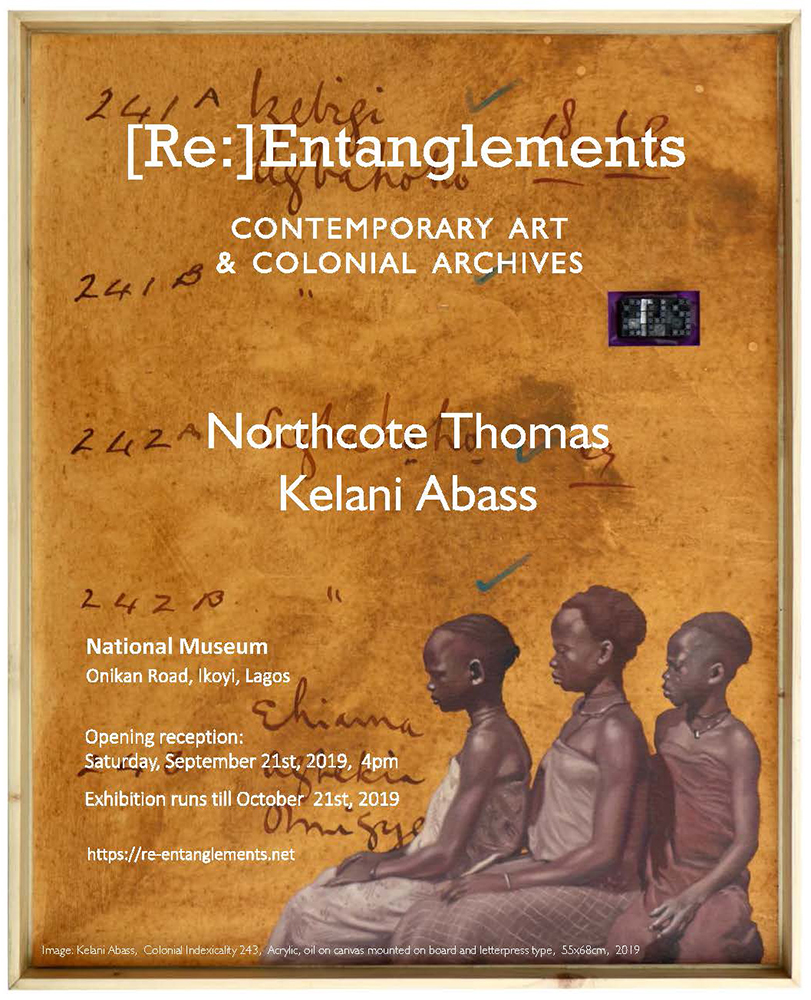 Kelani Abass [Re:]Entanglements Contemporary Art & Colonial Archives Exhibition, National Museum Lagos