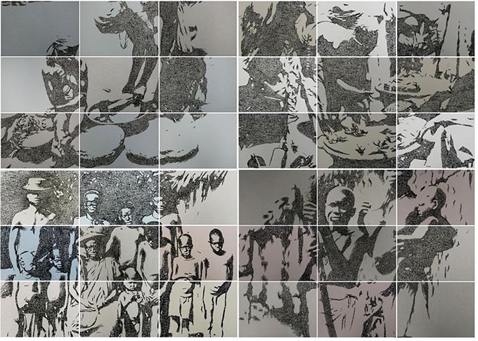 Kelani Abass, Stamping History series, National Museum, Lagos