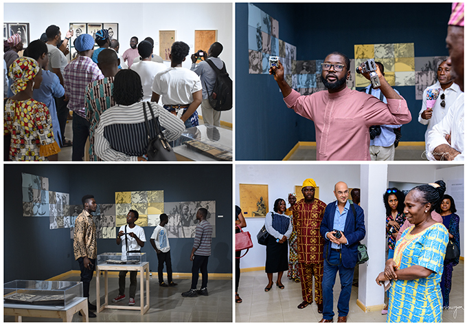 Scenes from opening of [Re:]Entanglements exhibition, National Museum, Lagos