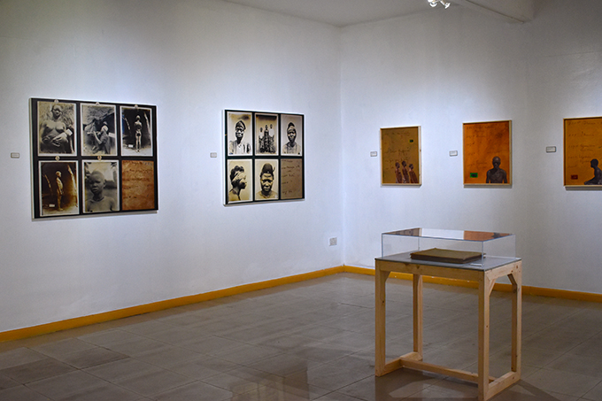 [Re:]Entanglements exhibition view, National Museum, Lagos