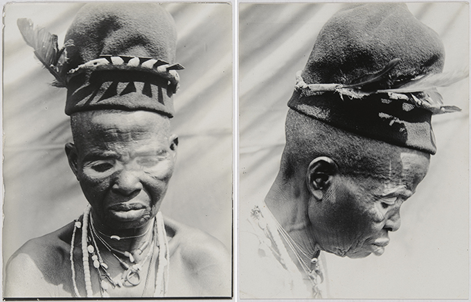 Northcote Thomas photograph of Omu, Okpanam, 1912