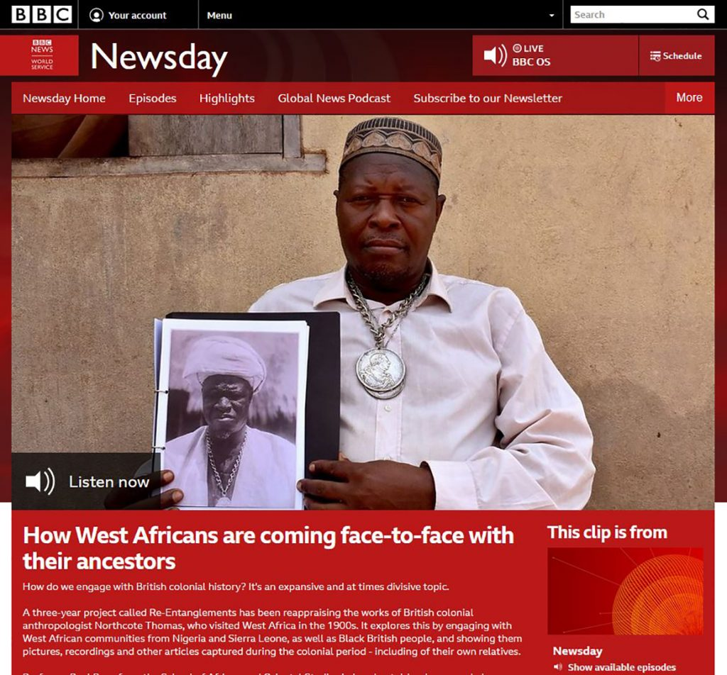 BBC World Service Newsday interview
