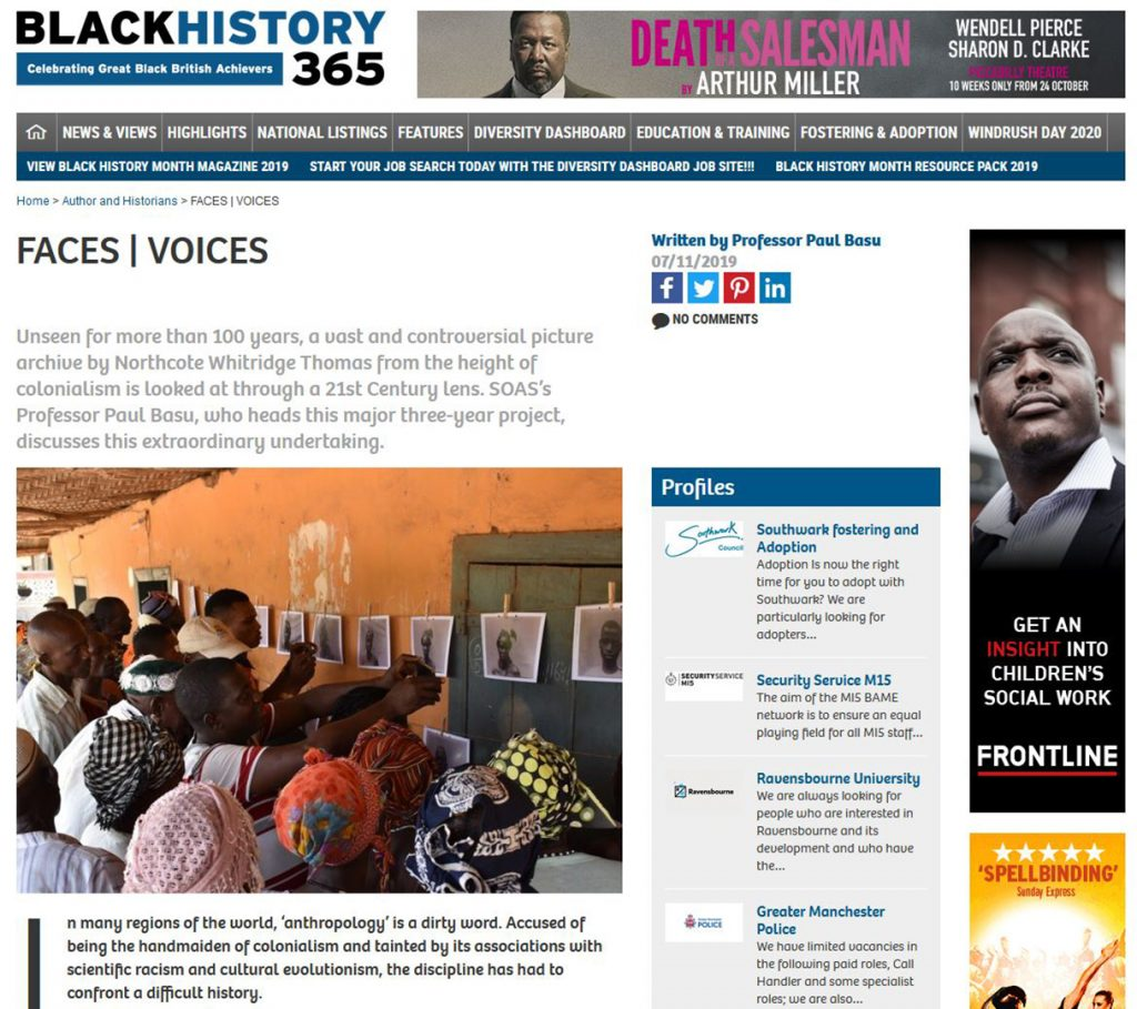 Black History Month article