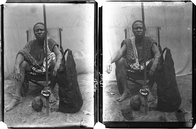 Onyeso, Agukwu Nri, photographed by N. W. Thomas was oton and ofo.