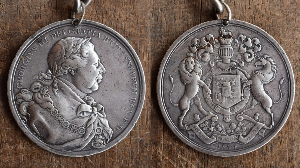 Kingbatankeh medal of PC Kandeh Sorrie Kankanday III, Samaya, Sierra Leone