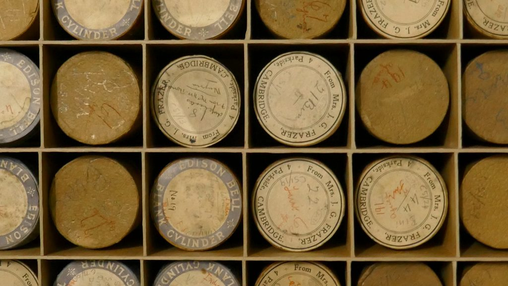 Northcote Thomas wax cylinder records at British Library