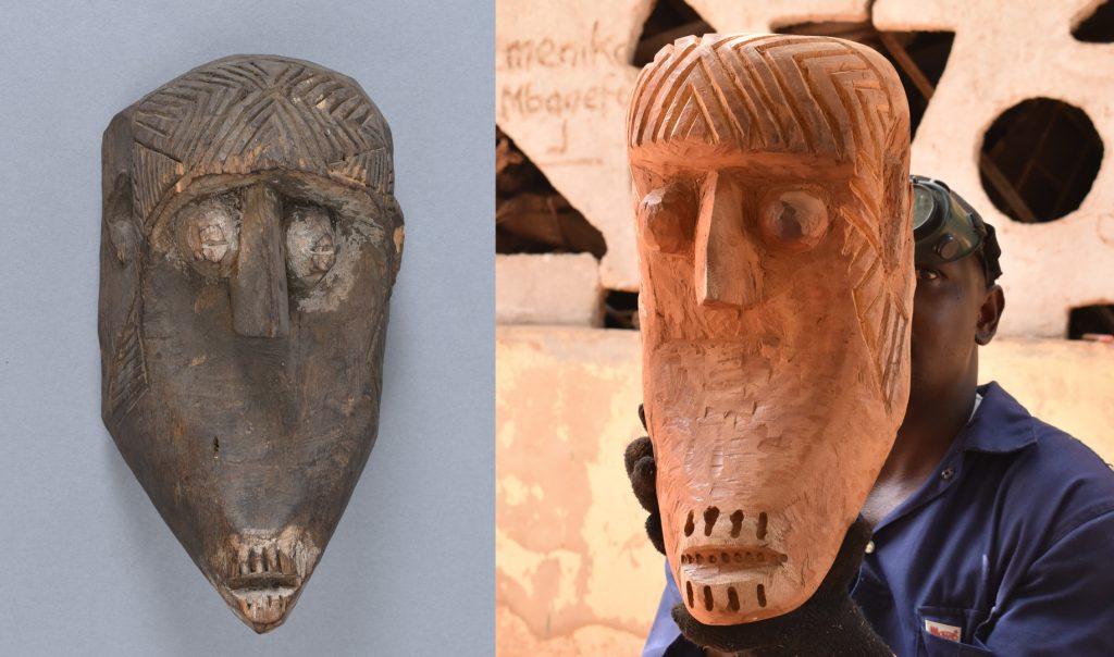 Livinus Kenechi Ngwu, Mask with ichi