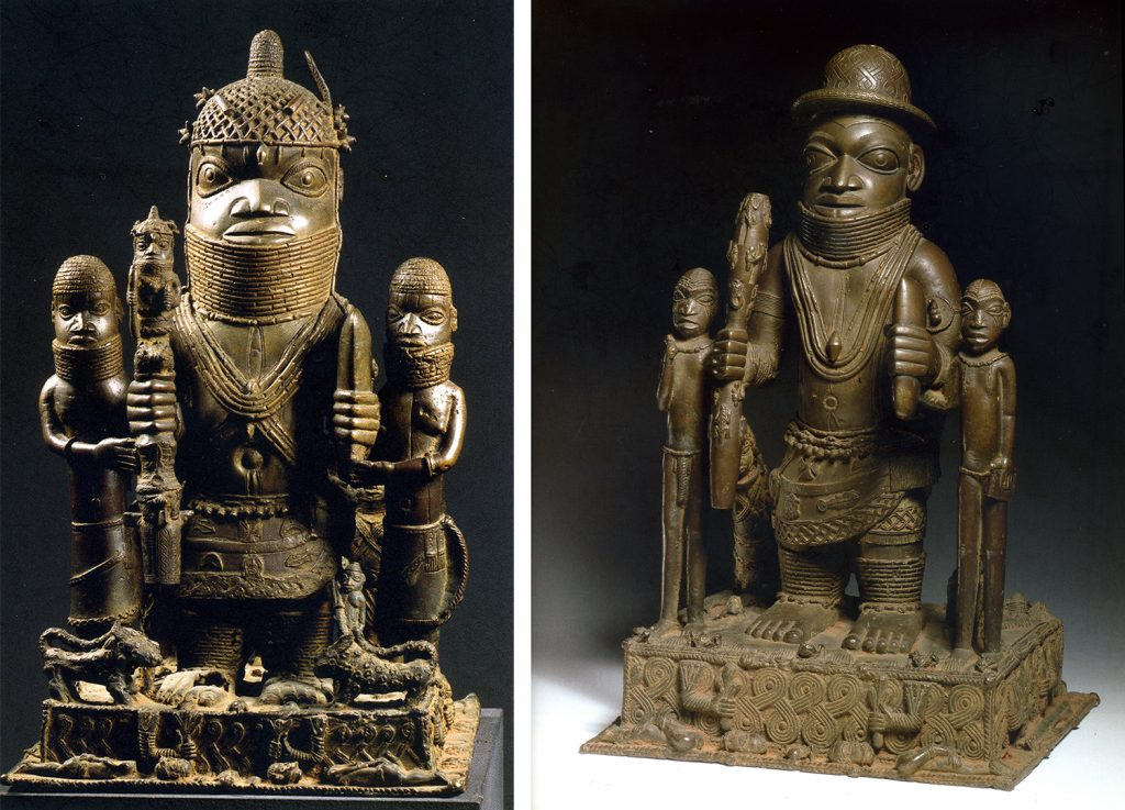Altar pieces Benin from Plankensteiner, Benin Kings and Rituals