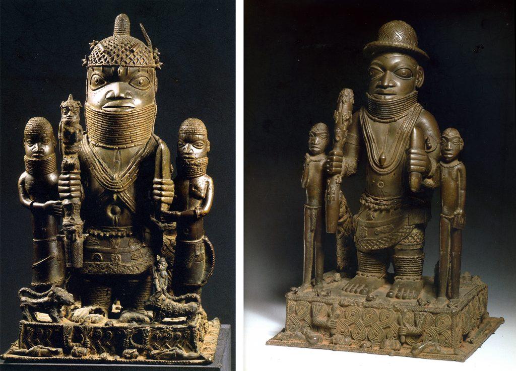 Altar pieces Benin from Plankensteiner, Benin Kings and Rituals