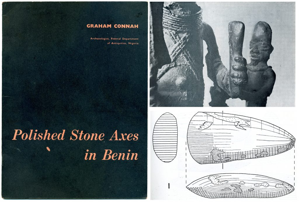 Connah, Polished Stone Axes in Benin