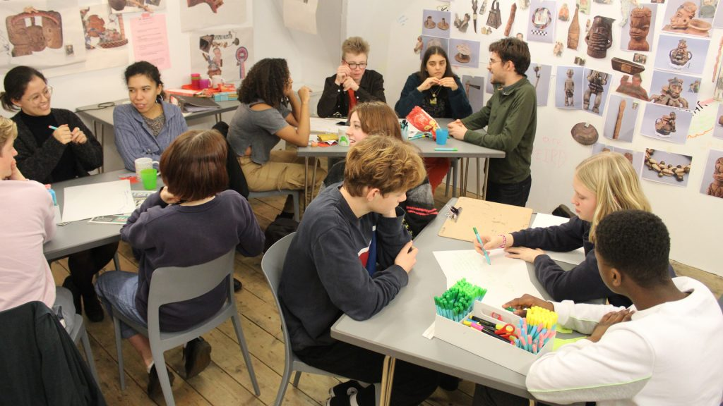 Art Assassins workshop with Rosa Johan Uddoh, South London Gallery