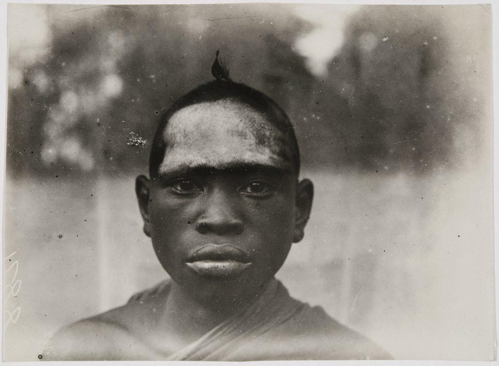 Initiate of Ovia Society, Iyowa, Benin City, 1909