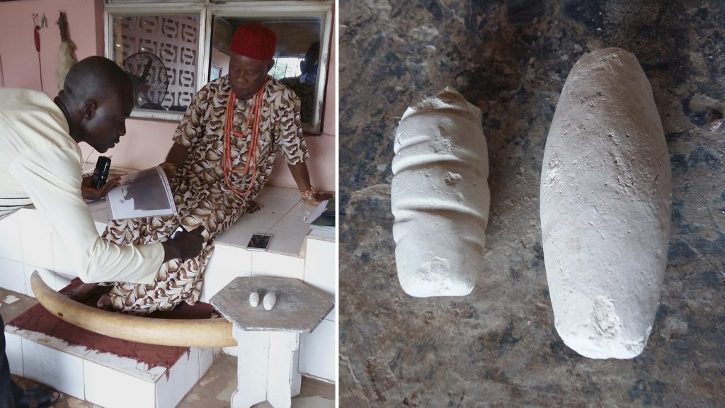 Obi Nwokobia and nzu, Okpanam