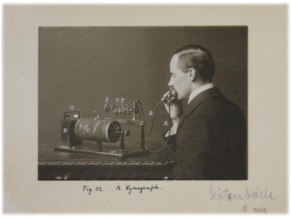 Daniel Jones, experimental phonetics, UCL, 1918