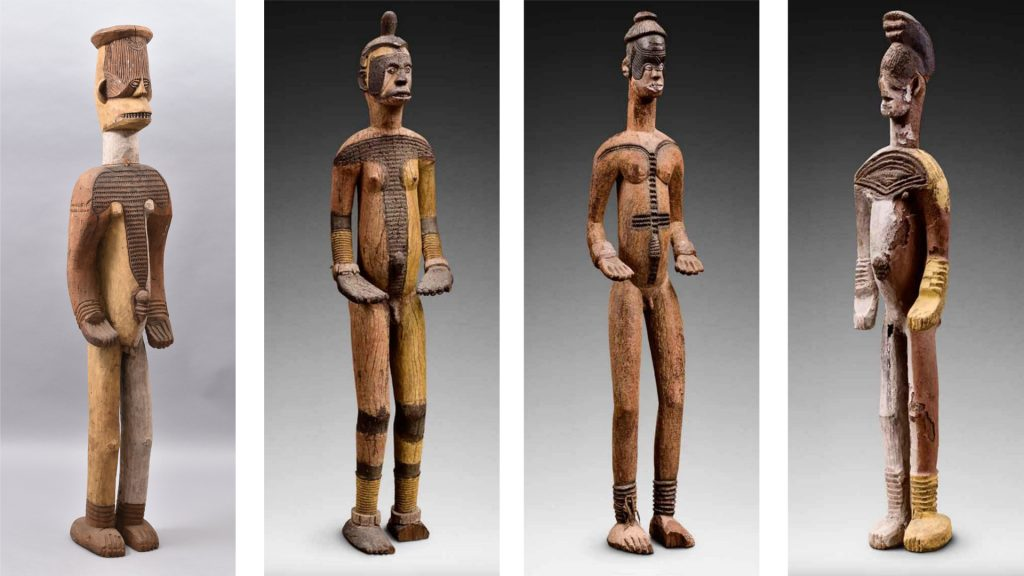 Formal comparison of Igbo alusi figures