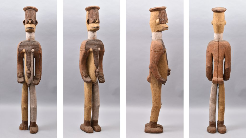Ngene alusi figure, Awgbu, University of Cambridge Museum of Archaeology & Anthropology