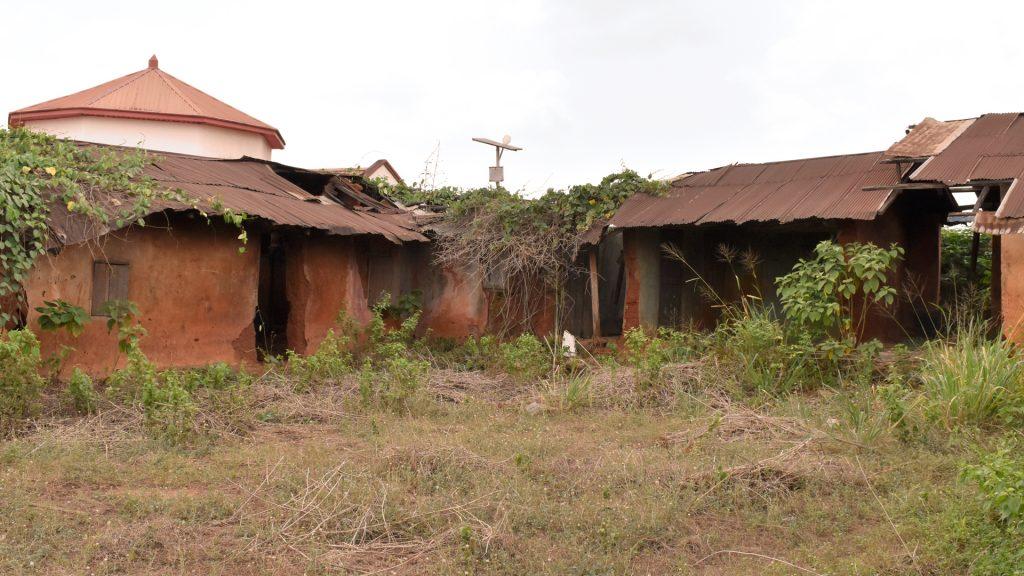 Ruins of old palace, Ubiaja, Edo State, Nigeria.