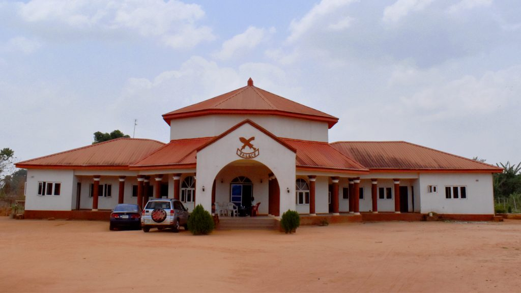 The palace, Ubiaja, Edo State, Nigeria