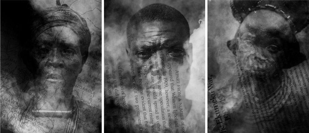 Nnaemezie Asogwa Mourning Clothes - Erasures and Traces