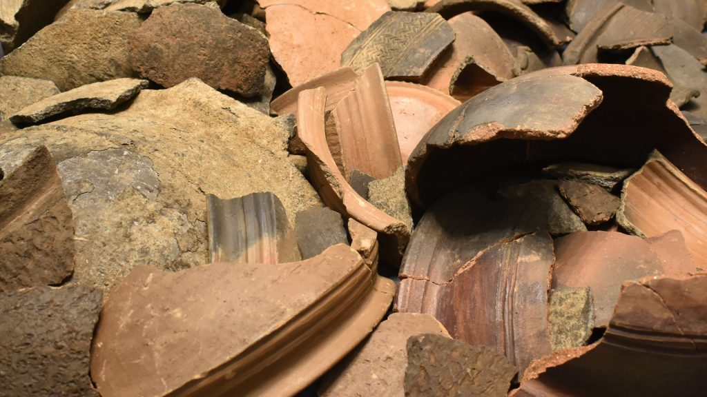 Pottery collected by Northcote Thomas broken in transit from Nigeria